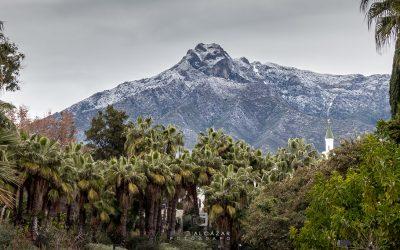 La nieve llega a Marbella