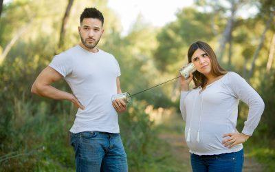 Sesión de embarazo con Rocío y Joel