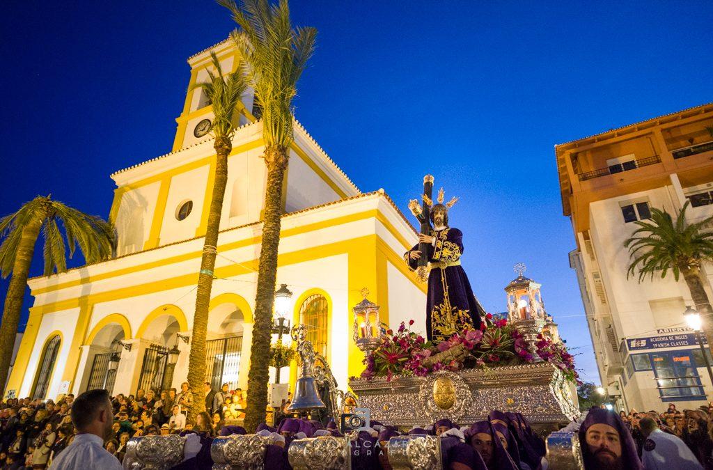 Jueves Santo y Procesión del Silencio en San Pedro Alcántara 2018