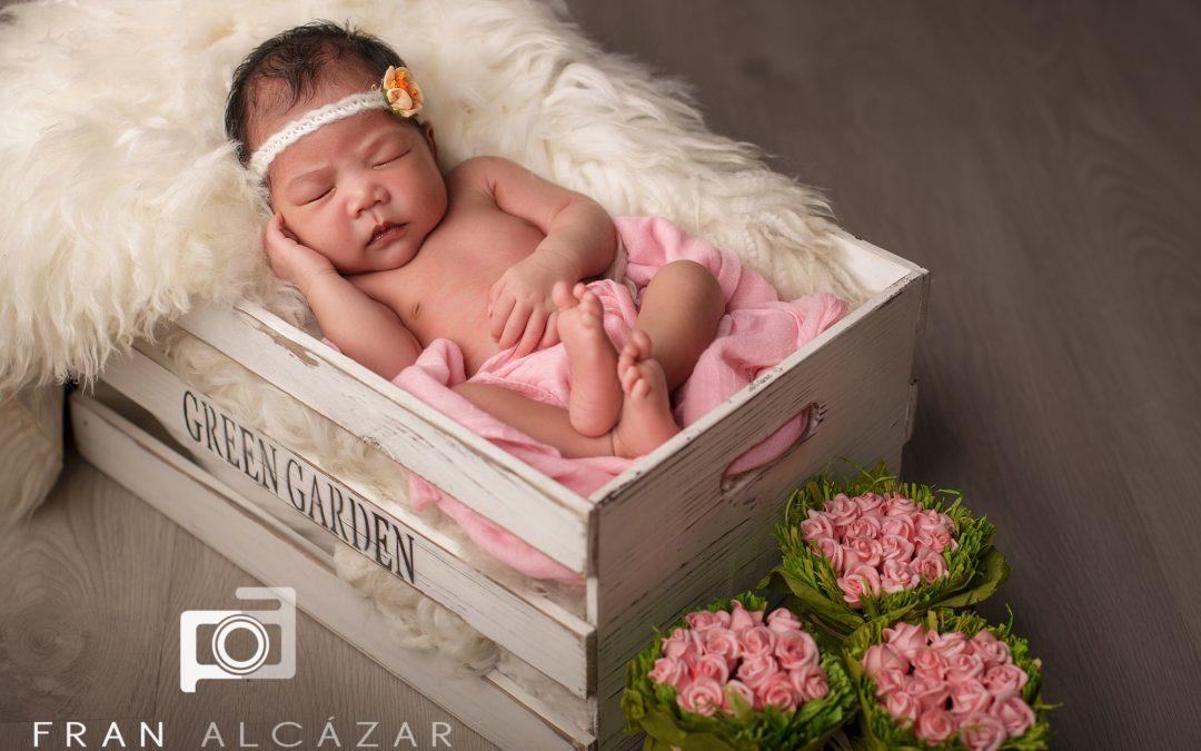 La sesión recién nacida de Shanah